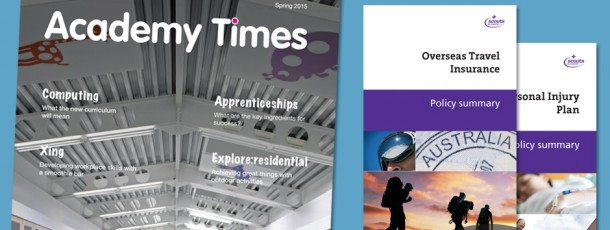 Brochures, magazines and print